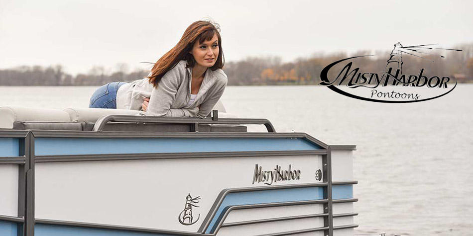 Misty Harbor Ponotoon boats for sale on Lake Hartwell Georgia
